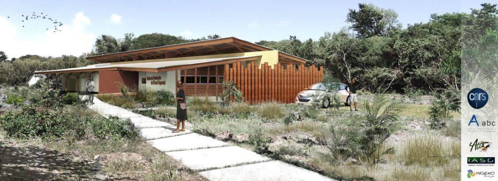 Projet SROG - CNRS- Awala Yalimapo (AABC Architecture)